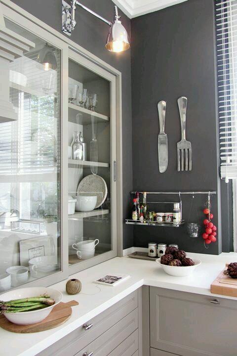 Decoracion de interiores en color gris for Decoracion de interiores en gris