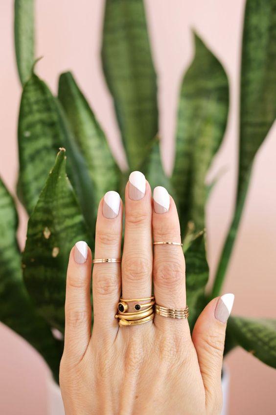 Decoraciones modernas para uñas cortas (15) - Curso de Organizacion ...