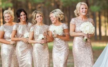 Detalles en dorado para bodas
