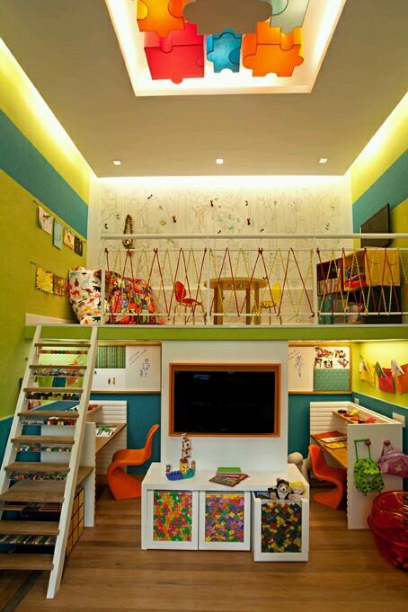 Habitaciones coloridas para niños (3) - Curso de Organizacion del ...