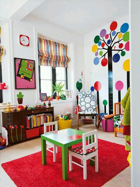 Habitaciones coloridas para ni os 9 curso de for Clases de decoracion de interiores