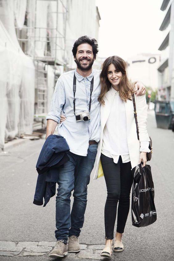 Ideas de outfits super fashion en pareja (18) - Curso de Organizacion del hogar