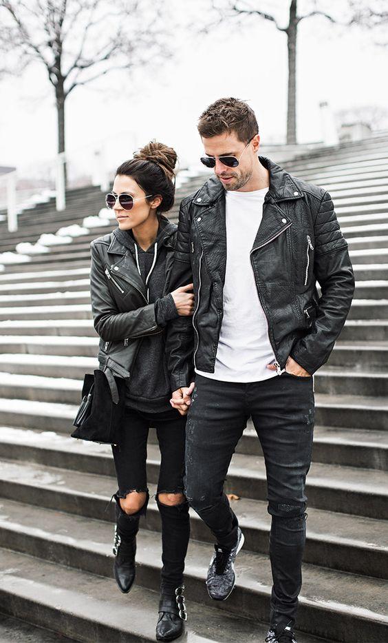Ideas de outfits super fashion en pareja (24) - Curso de Organizacion del hogar y Decoracion de ...