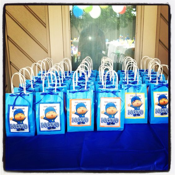 Ideas para decorar fiesta de cumplea os de pocoyo 11 - Ideas para decorar cumpleanos infantiles ...