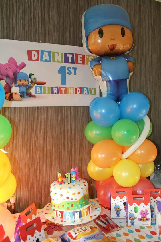 Ideas para decorar fiesta de cumplea os de pocoyo 15 - Ideas para decorar cumpleanos infantiles ...