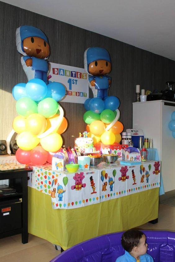 Ideas para decorar fiesta de cumplea os de pocoyo 18 for Ideas para decorar fiestas de cumpleanos