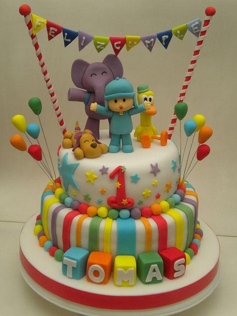Ideas para decorar fiesta de cumplea os de pocoyo 3 - Ideas para decorar fiestas de cumpleanos ...
