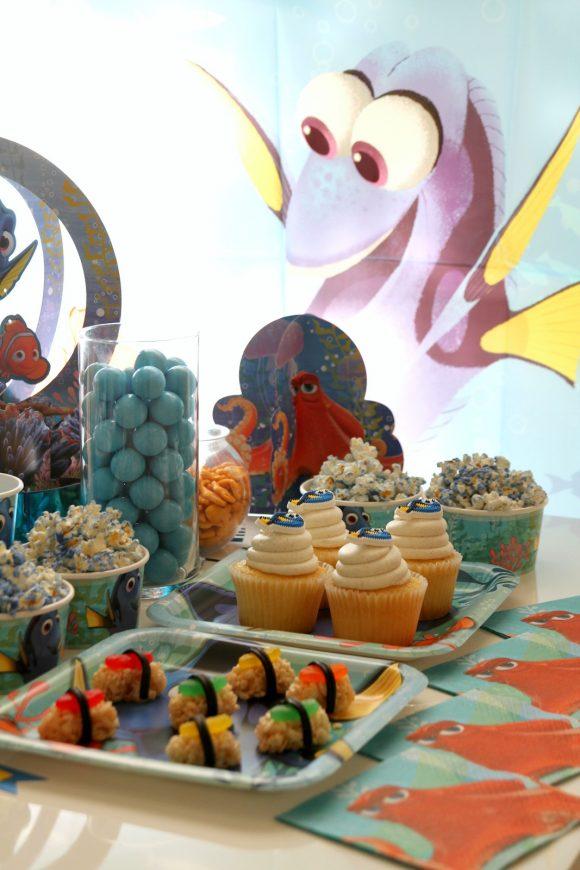 Ideas para decorar fiesta de cumplea os de buscando a dory - Ideas para cumpleanos 18 ...