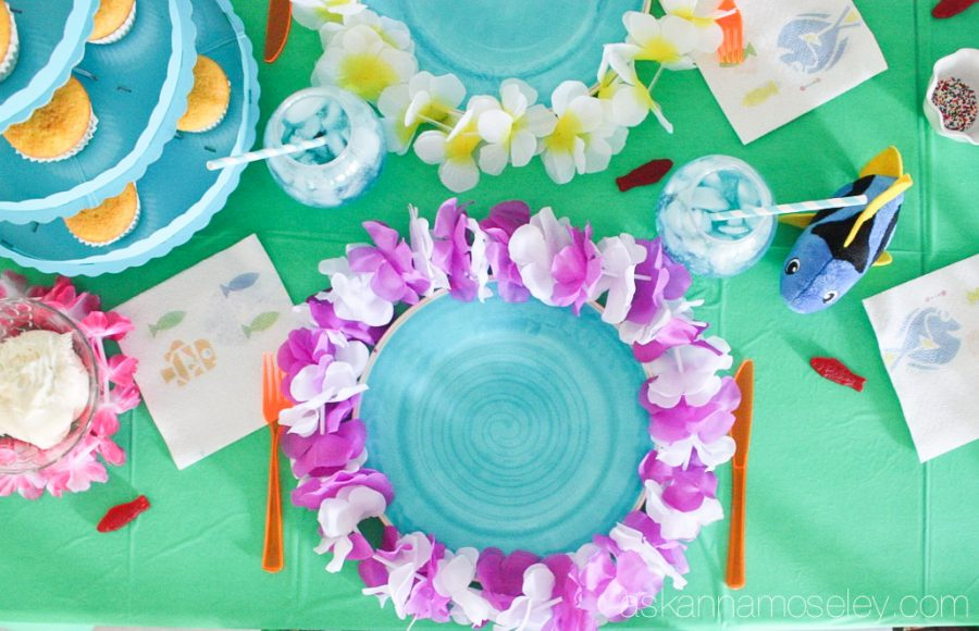 beautiful ideas para decorar fiesta de cumpleaos de buscando a dory with decoracion para cumpleaos de nio