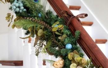 Ideas para decorar las escaleras esta navidad 2016-2017