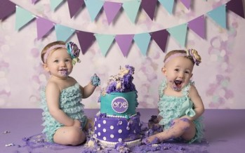 Ideas smash cake para cuates o gemelos