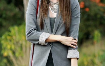 Los mejores outfits con blazers grises. ¡Te van a encantar!