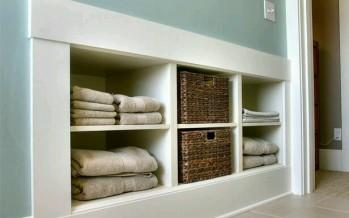 Muebles empotrados excelentes para ahorrar espacio