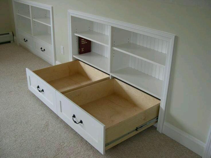 Muebles empotrados excelentes para ahorrar espacio 2 - Muebles para ahorrar espacio ...