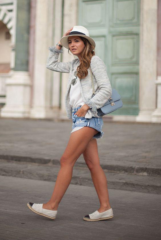 Outfits con alpargatas