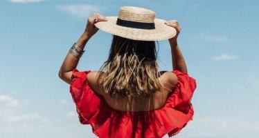 Outfits con sombreros de palma tu aliado para este verano