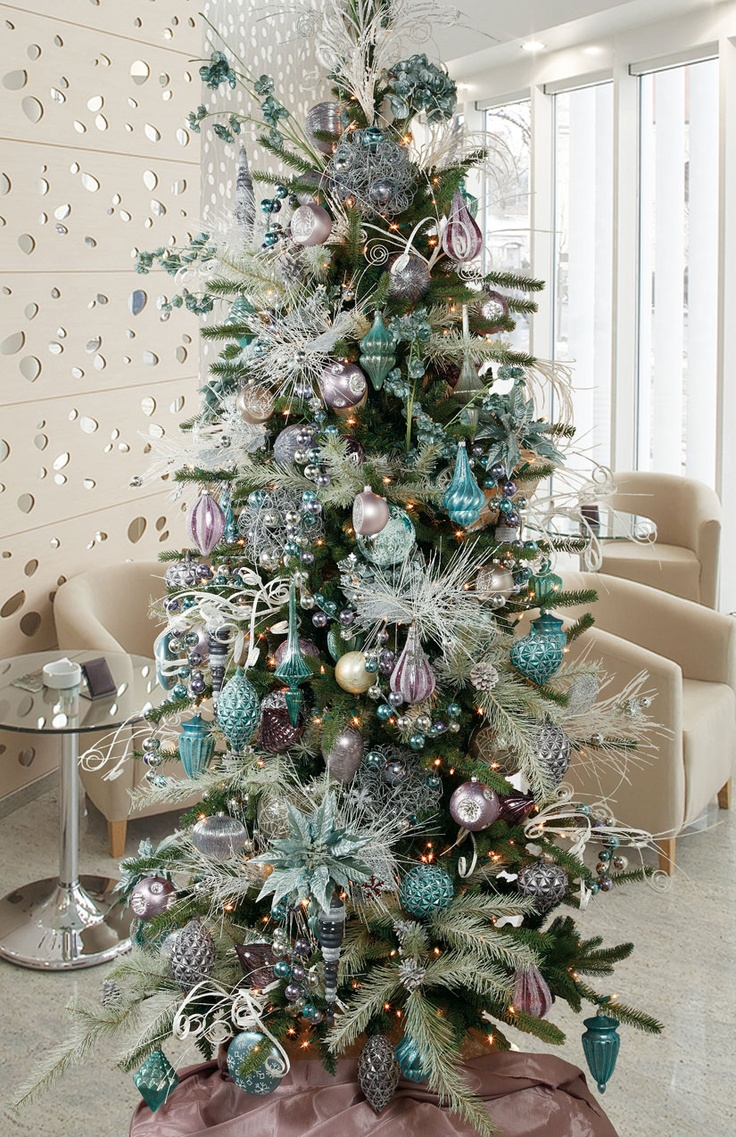 Tendencias para decorar tu arbol de navidad 2016 2017 1 - Decoracion arbol ...
