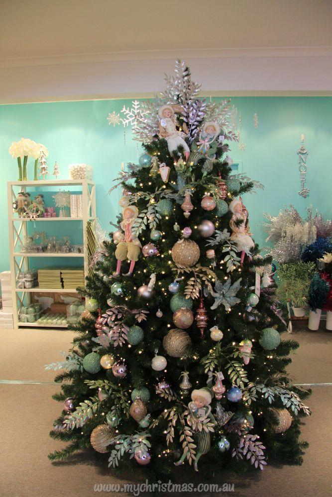 Tendencias para decorar tu arbol de navidad 2016 2017 10 - Arboles de navidad decorados 2017 ...