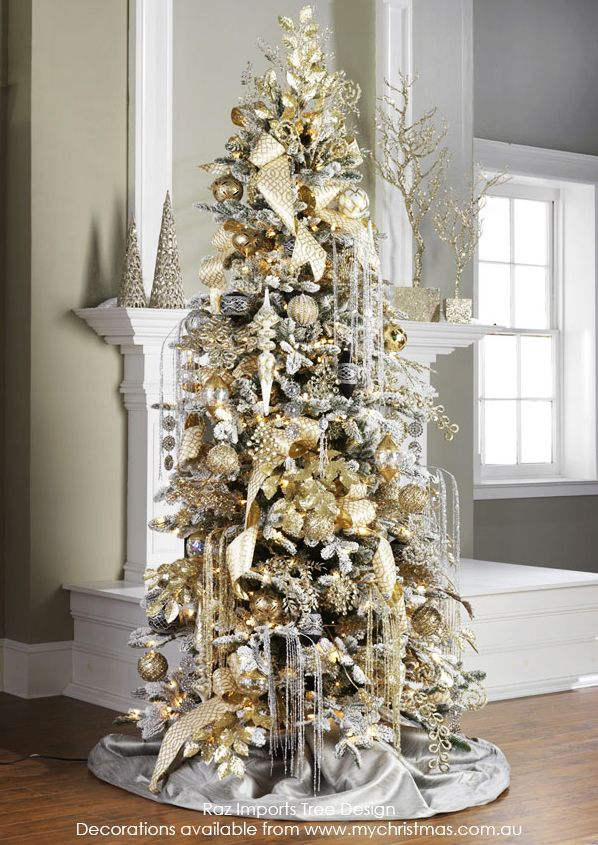 Tendencias para decorar tu arbol de navidad 2016 2017 16 for Navidad 2016 tendencias decoracion