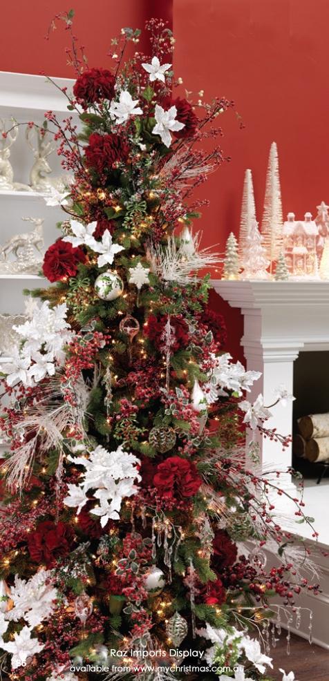 Tendencias para decorar tu arbol de navidad 2016 2017 19 - Arboles de navidad decorados 2017 ...