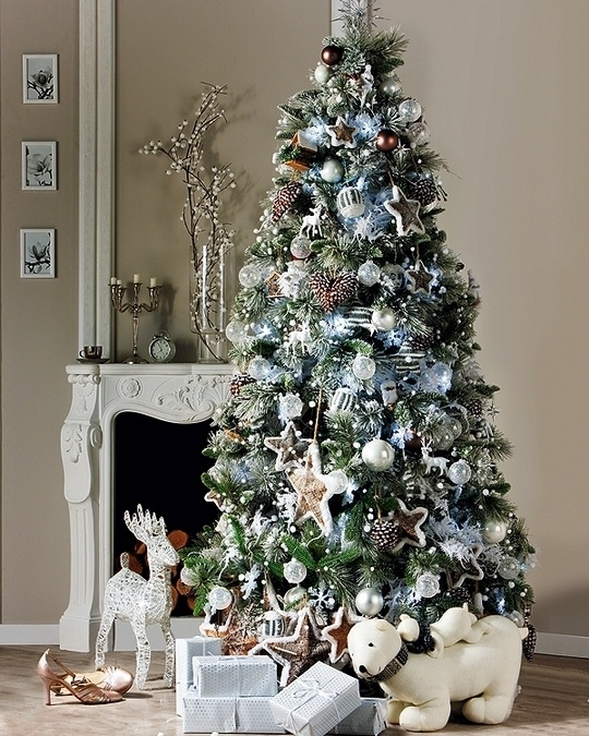 Tendencias para decorar tu arbol de navidad 2016 2017 20 for Navidad 2016 tendencias decoracion