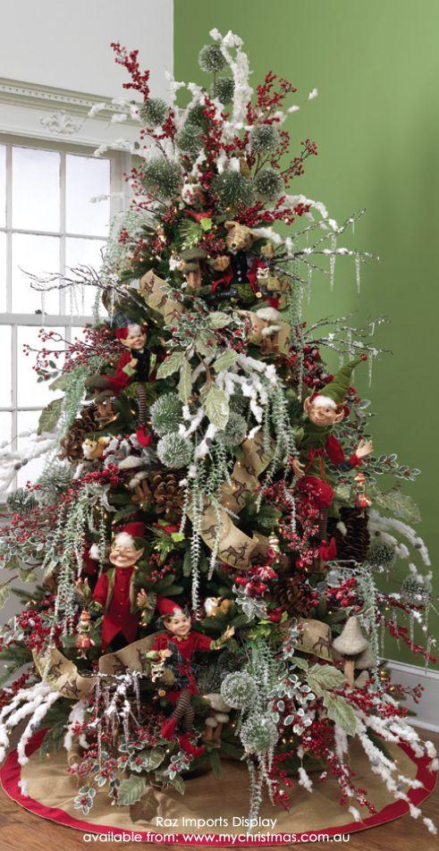 Tendencias para decorar tu arbol de navidad 2016 2017 22 - Arboles de navidad decorados 2017 ...