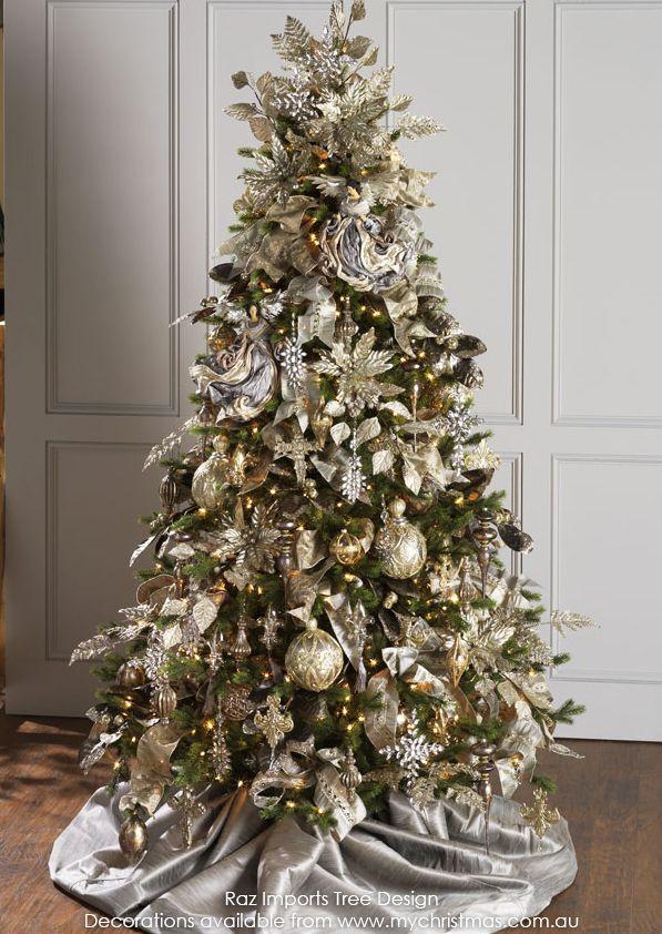 Tendencias para decorar tu arbol de navidad 2016 2017 23 for Adornos para arbol de navidad 2016