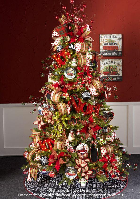 Tendencias para decorar tu arbol de navidad 2016 2017 25 - Arboles de navidad decorados 2017 ...