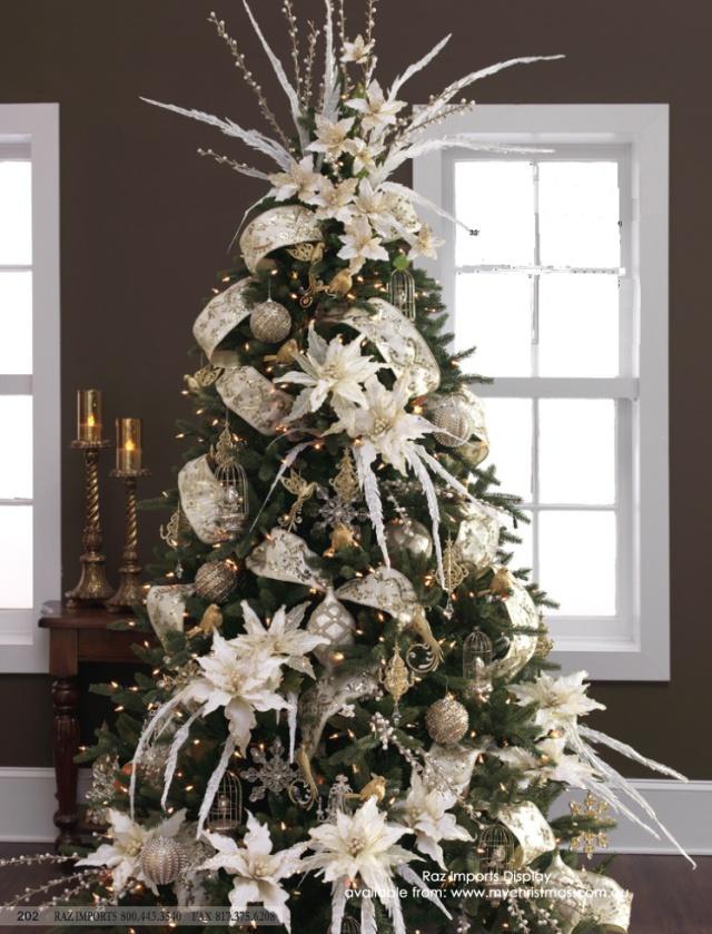 Tendencias para decorar tu arbol de navidad 2017 - 2018