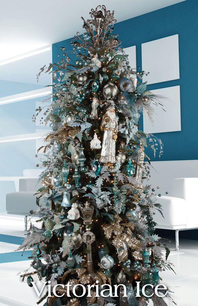 Tendencias para decorar tu arbol de navidad 2016 2017 3 for Navidad 2016 tendencias decoracion
