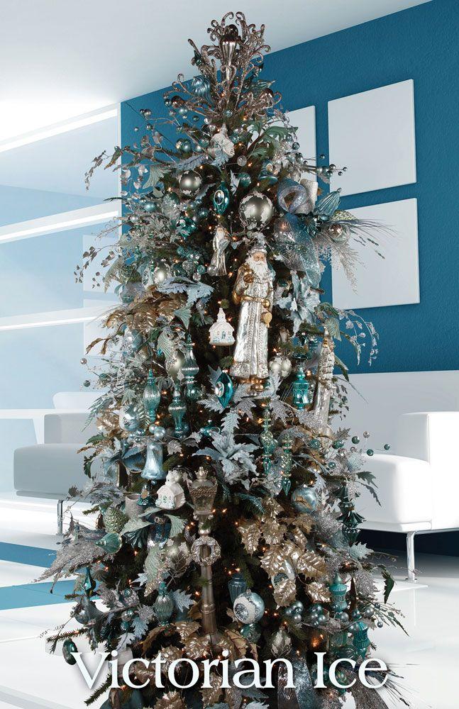 Tendencias para decorar tu arbol de navidad 2016 2017 3 for Adornos para arbol de navidad 2016