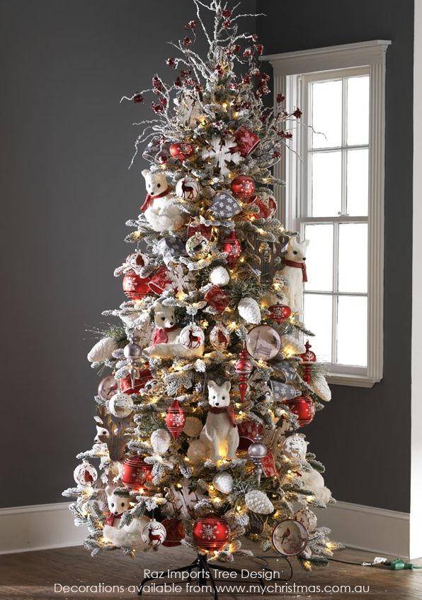 Tendencias para decorar tu arbol de navidad 2016 2017 30 for Navidad 2016 tendencias decoracion