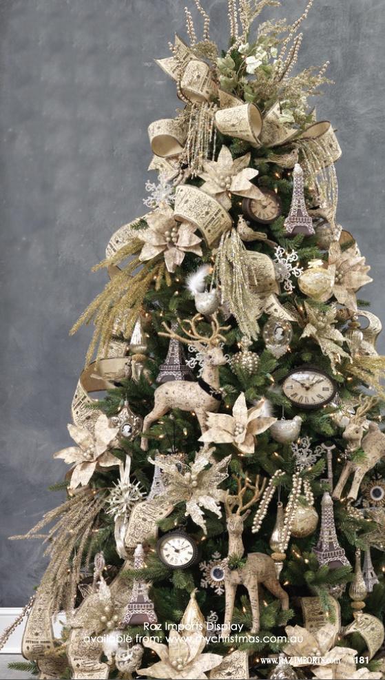 Tendencias para decorar tu arbol de navidad 2016 2017 39 - Arboles de navidad decorados 2017 ...