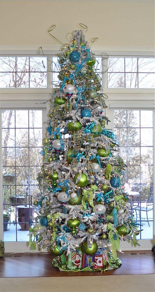 Tendencias para decorar tu rbol de navidad 2017 2018 - Arboles de navidad colores ...