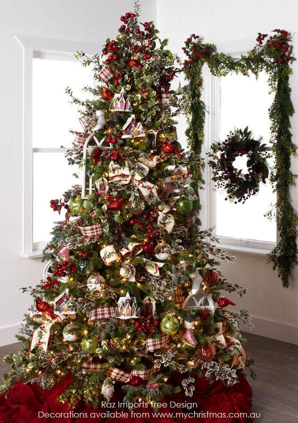 Tendencias para decorar tu arbol de navidad 2016 2017 52 - Decoracion de arboles de navidad 2017 ...