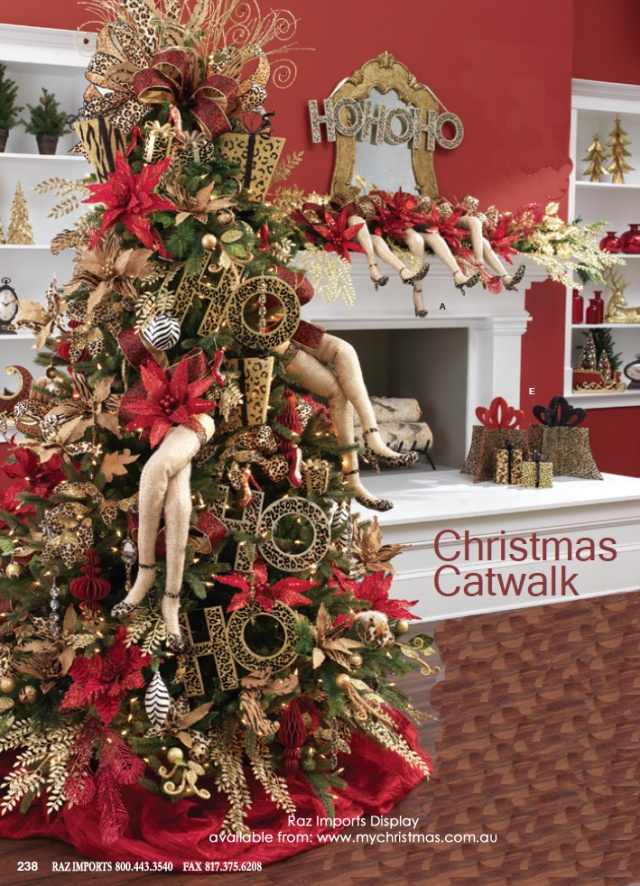 Tendencias para decorar tu arbol de navidad 2016 2017 54 - Arboles de navidad decorados 2017 ...
