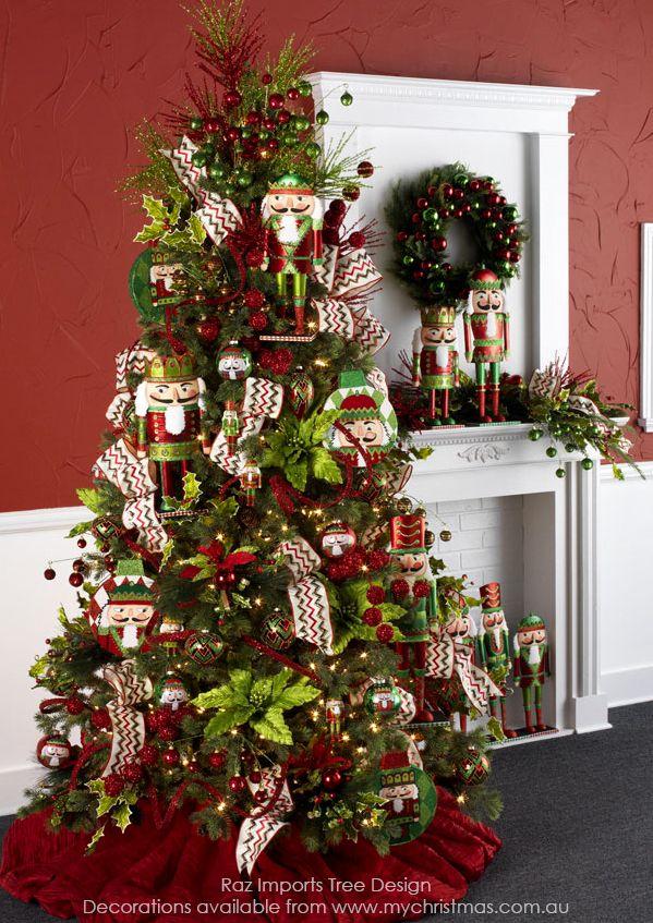 Decorar Pared Arbol ~ Tendencias para decorar tu arbol de navidad 2016 2017  Belleza