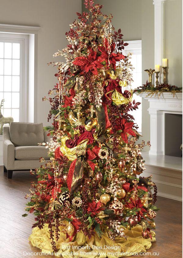 Tendencias para decorar tu arbol de navidad 2016 2017 59 for Decoracion de arboles de navidad 2016