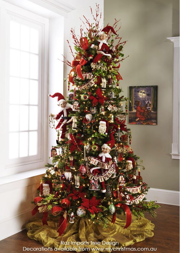 Tendencias para decorar tu arbol de navidad 2016 2017 63 - Decoracion arbol ...