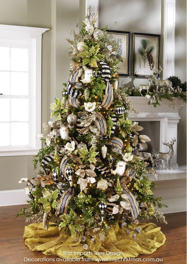 Tendencias para decorar tu arbol de navidad 2016 2017 68 for Navidad 2016 tendencias decoracion