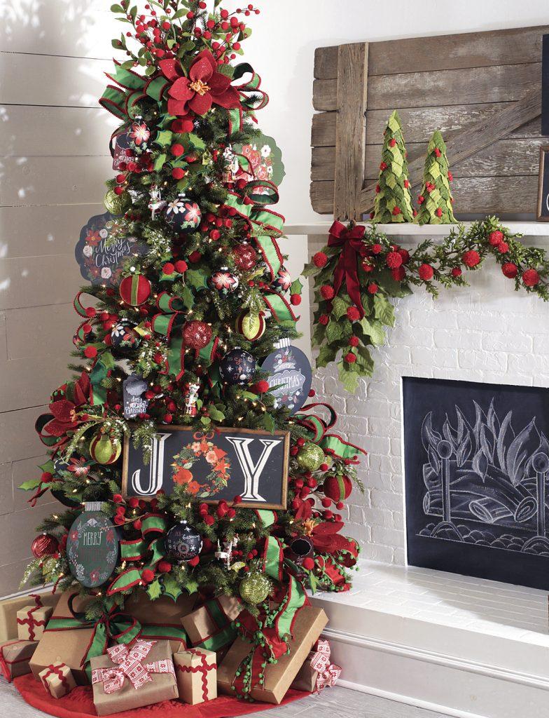 Tendencias para decorar tu rbol de navidad 2017 2018 - Decorar arbol de navidad blanco ...
