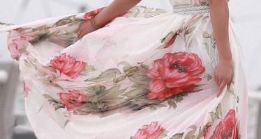 Vestidos florales tendencia 2016-2017