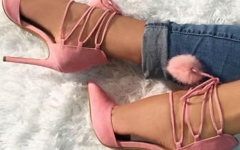 Zapatillas con pompones tendencia 2016