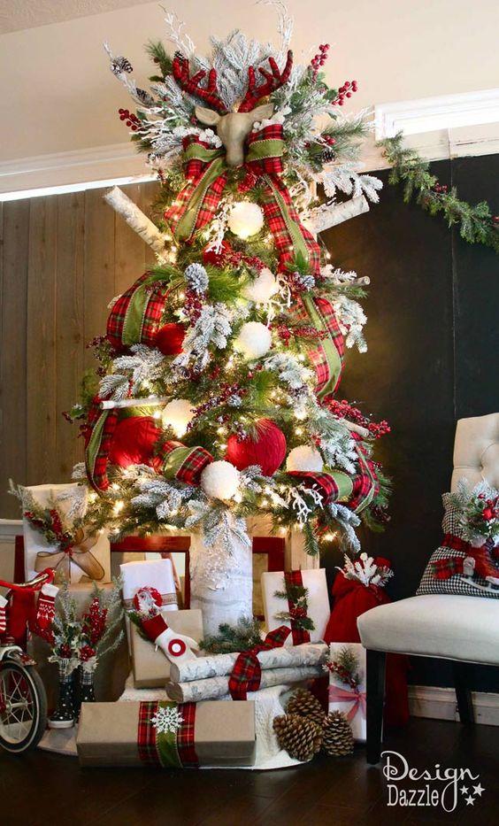 decoracion arbol de navidad 2017 - 2018