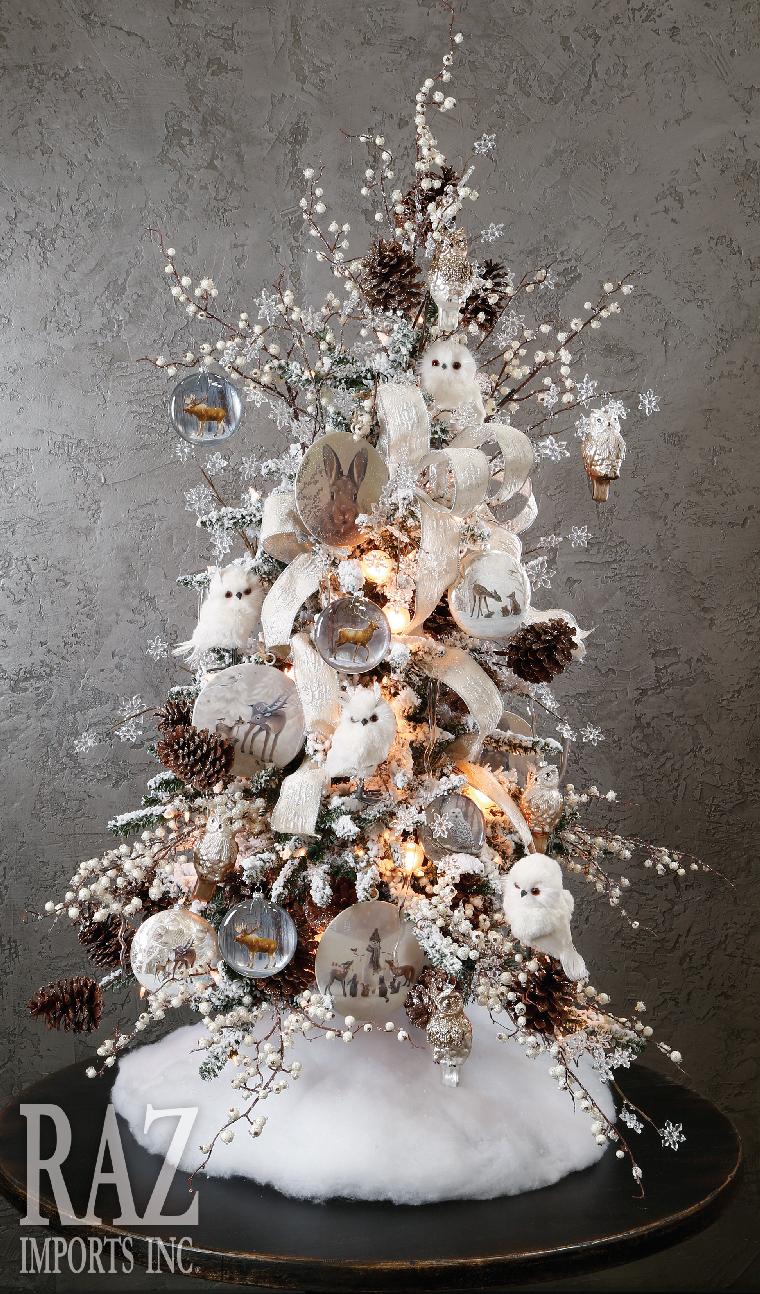 decoracion de arboles de navidad alternativos