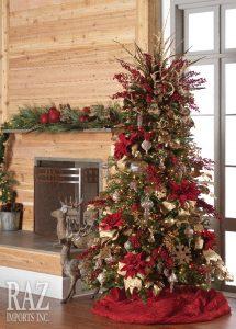 Decoracion de arboles de navidad tradicionales 2017 - 2018