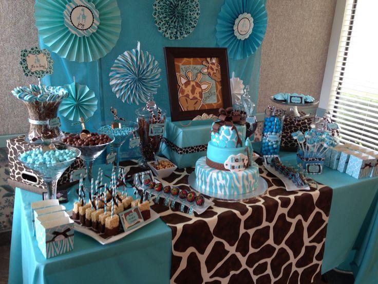 40 fantasticas ideas para decorar baby showers 16 for Decoracion 40