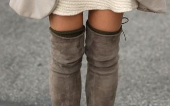 Ideas de looks con botas a la rodilla