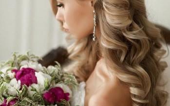 Ideas de peinados glamurosos para novias o damas