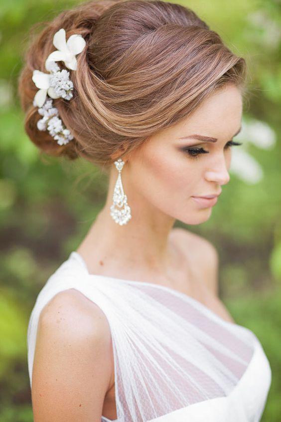 Ideas de peinados glamurosos para novias o damas 5 - Ideas de peinados ...
